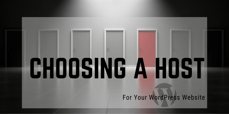 Choosing a Host for your WordPress Site