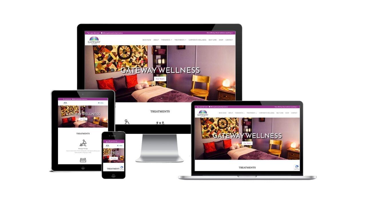 Gateway Wellness Website