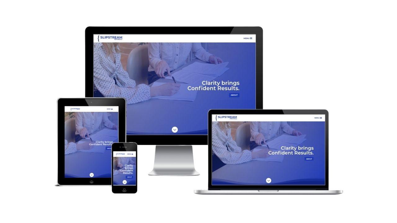 Slipstream Training Responsive Design Website