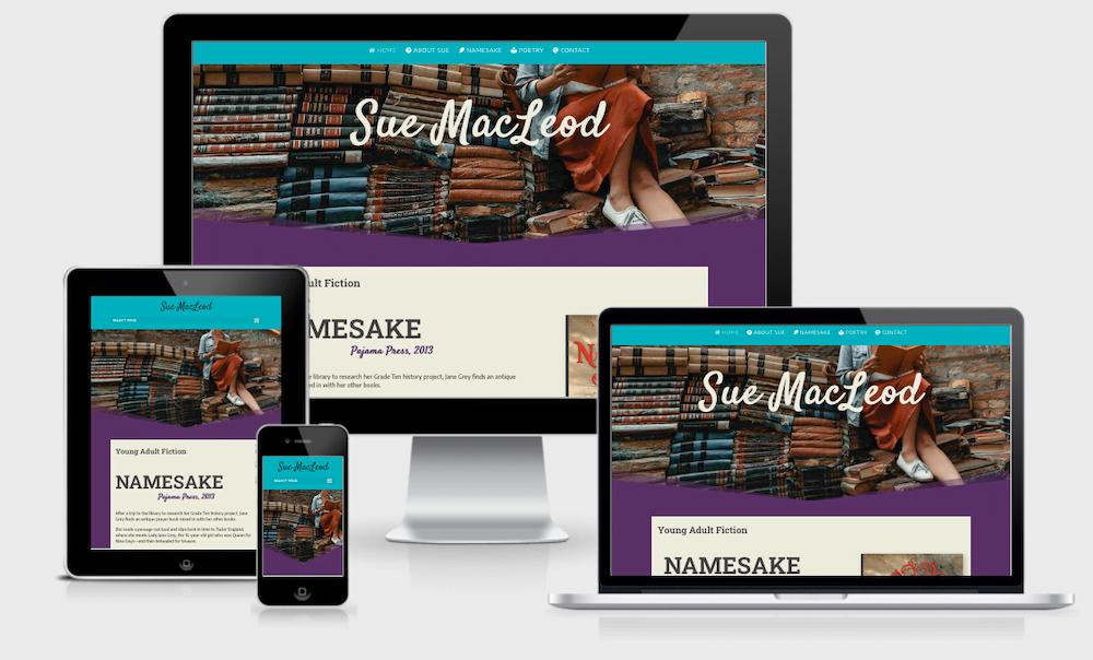 suemacleod website multi-screen