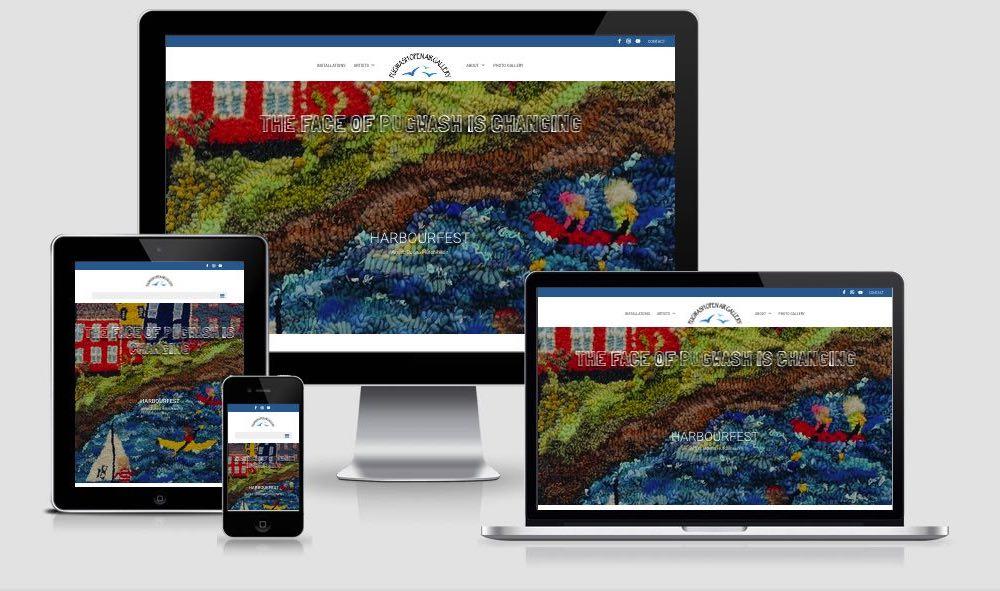 Pugwash Open Air Gallery Website