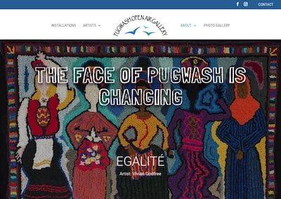Pugwash Open Air Gallery